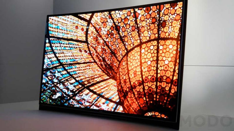 Samsung's Beautiful Curved OLED TV Comes to the USA for a Mere $15,000