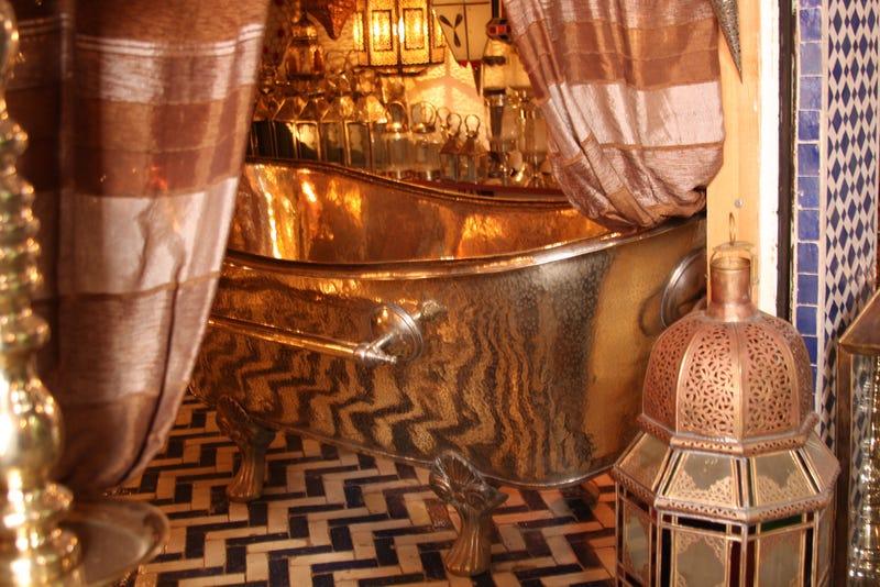 Mayor Bloomberg Bought a Custom $13,000 Copper Bathtub