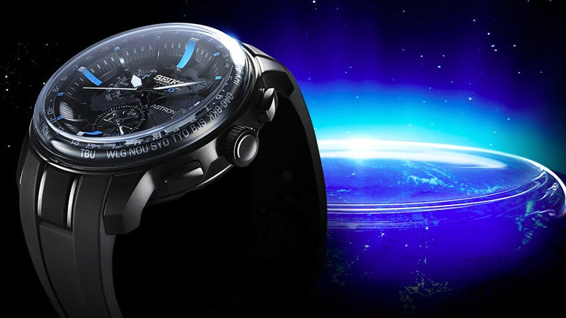 A Space-Inspired Watch That's Strengthened by a Sapphire Dome