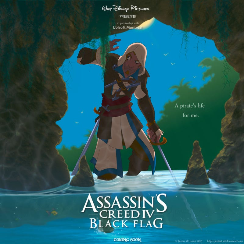 If Assassin's Creed IV Was A Disney Cartoon...