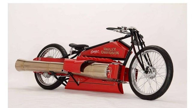 Who Wouldn't Want a Twin-Engine Jet-Powered Harley?