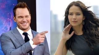 Imagine Chris Pratt and Jennifer Lawrence in a movie together...