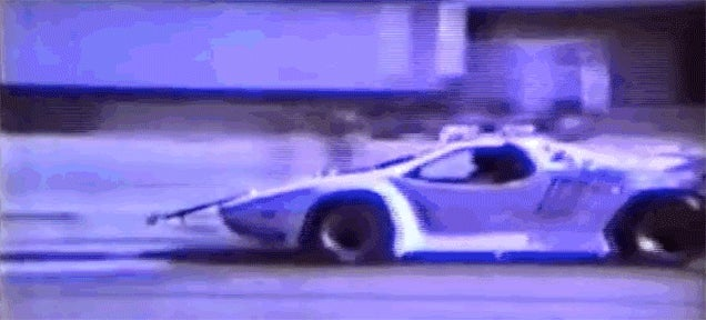 Rare Vector W8 Crash Test Footage Proves America's Supercar Was Safe