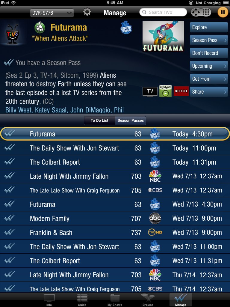 TiVo Good