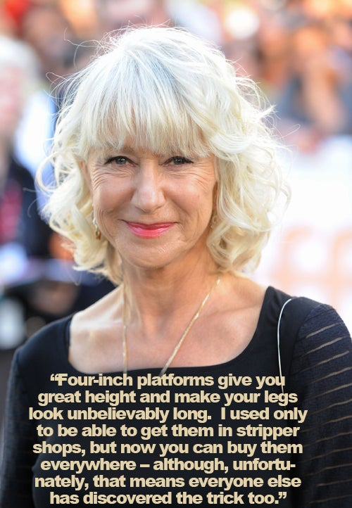 Helen Mirren Shares Her Secret Weapon For Body Confidence