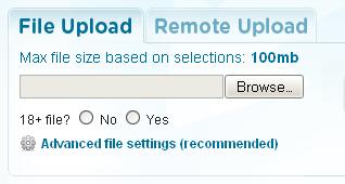Gazup Uploads to Multiple File Sharing Hosts