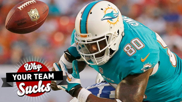 Why Your Team Sucks 2014: Miami Dolphins