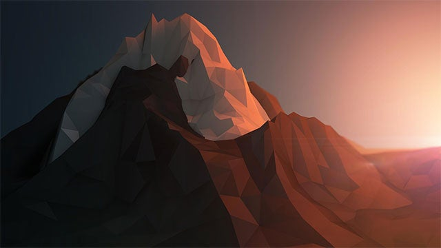 Render Some Images on Your Desktop with These Polygon Art Wallpapers