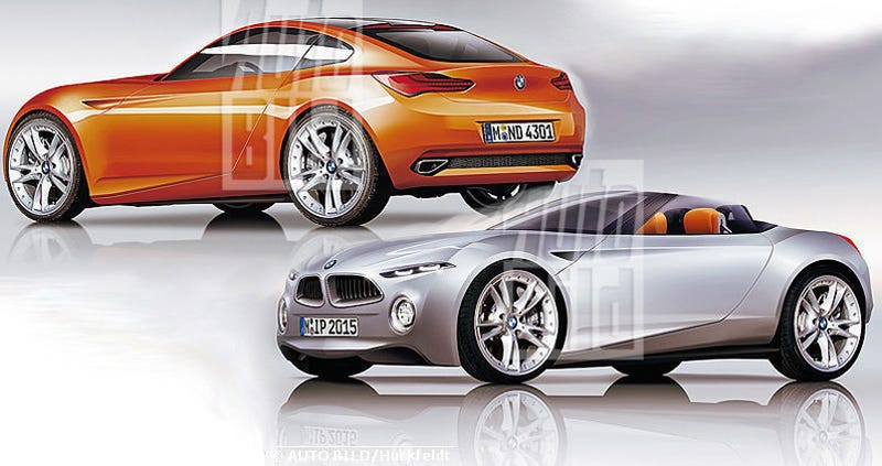 BMW Z2: 1-Series-Based Mini-Z4 Green-Lit