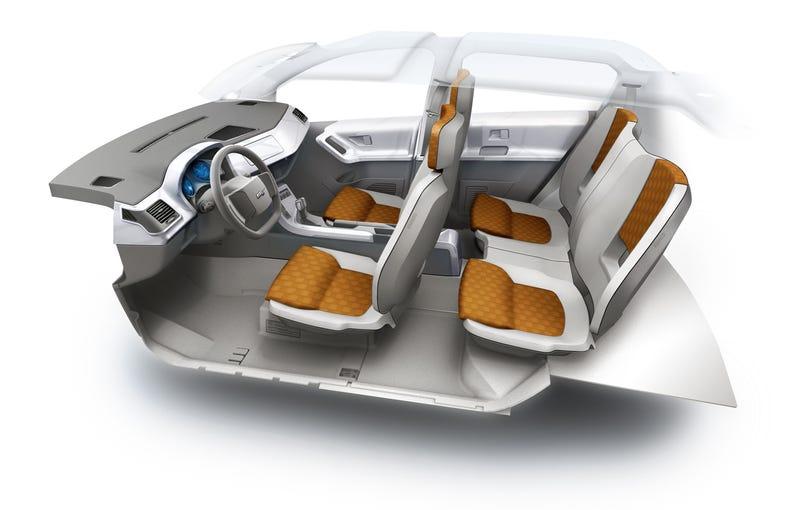 Magna Steyr Mila EV Concept: Electric, Boring