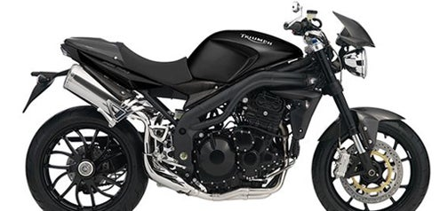 Triumph Speed Triple Carbon Motorcycle Comes In One Color Only