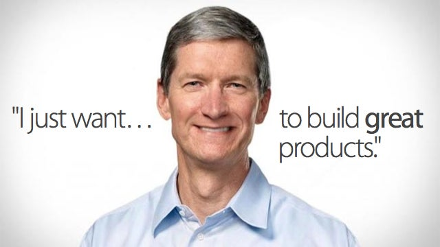 Apple CEO Tim Cook on Steve Jobs, TVs, and Hollywood