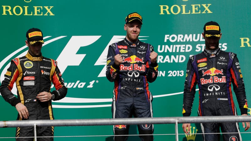 Sebastian Vettel Races To Donut-Filled Victory At U.S. Grand Prix