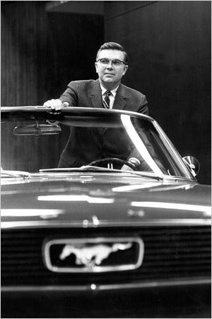 Donald Frey, Designer of the Original Mustang, Dies at 86