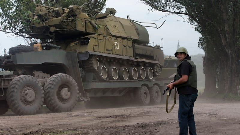 Ukrainian Forces Recapture Key Rebel Stronghold Slovyansk