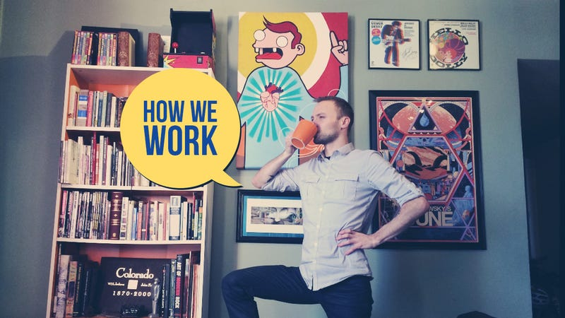 How We Work, 2014: Thorin Klosowski's Gear and Productivity Tricks