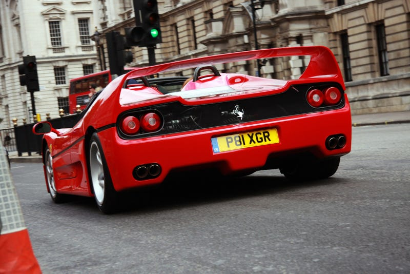 What The Hell Is Wrong With The Ferrari F50?