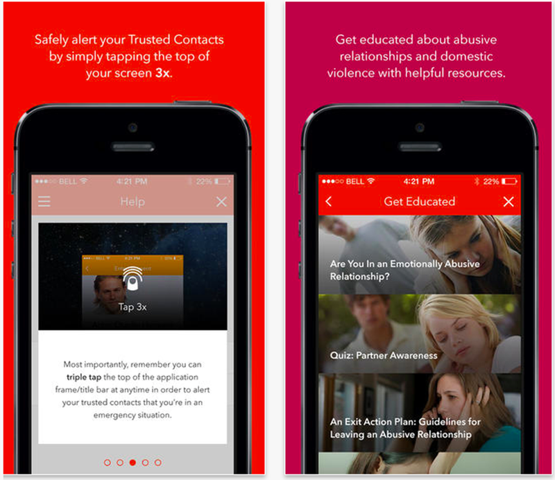 New App Lets People in Abusive Relationships Seek Help Quickly