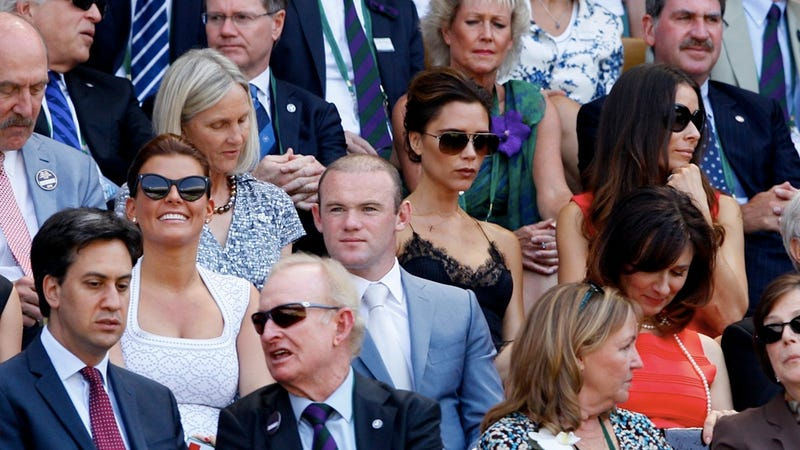 Can You Find the Posh Spice in This Wimbledon Photo of Famous Britons?