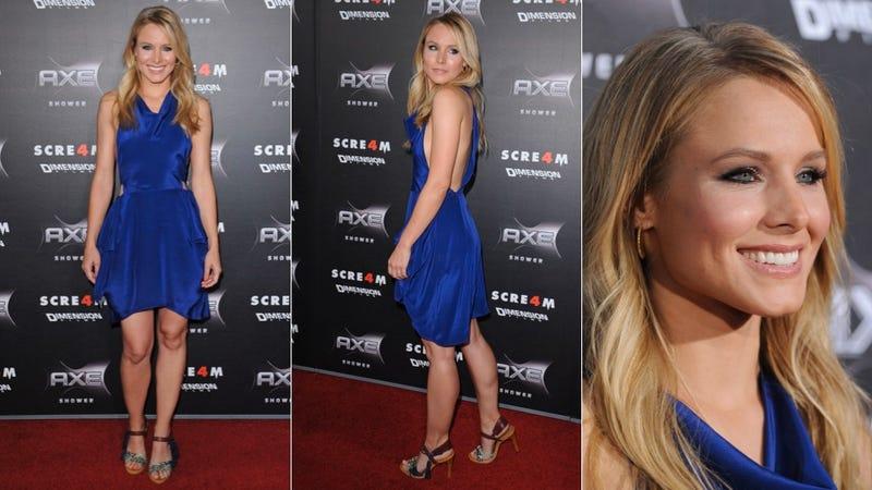 Kristen Bell Is Dazzling In True Blue