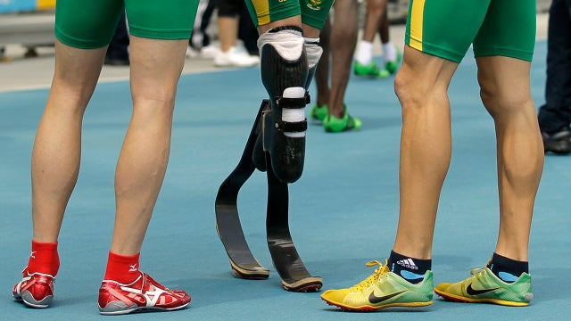 What does Oscar Pistorius's success at the Olympics mean for the future of cybernetics?