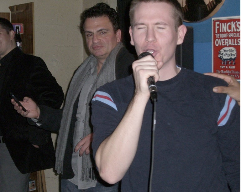 Jay Mariotti: Lurking Karaoke Superstar
