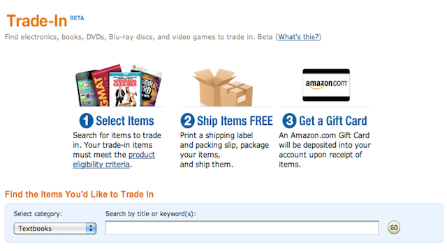 Trade-In Your Old Gadgets on Amazon for $$$