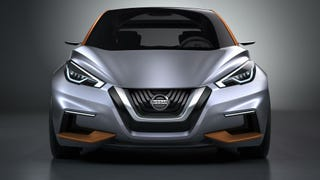 The Nissan Sway Concept Is The Funky Future Of Hot Hatches