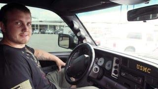 Texas Dealership And Local Shops Rebuild Marine's Stolen Truck