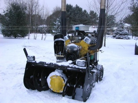 The V8-Powered Snowblower Owns Frosty's Ass