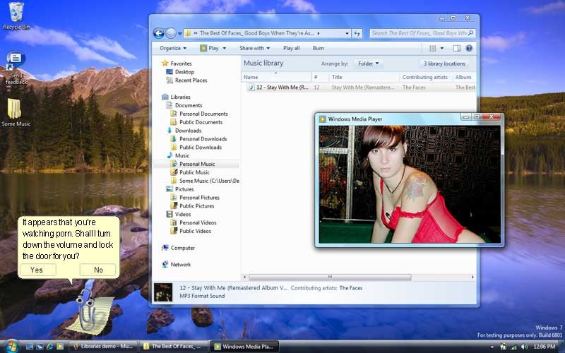 Use Photoshop to Come Up with Some Unlikely Windows 7 Features