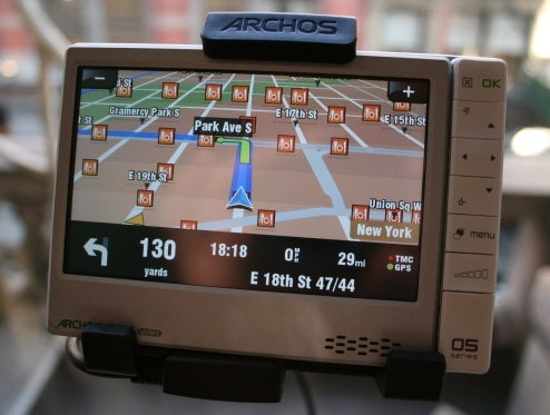 Hands On Archos 605 GPS