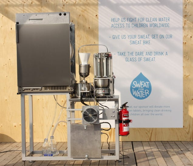 The Sweat-to-Water Purifier: Real-Life Dune Still Suit Will Save Lives