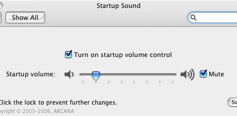 Silence your Mac's Startup Sound