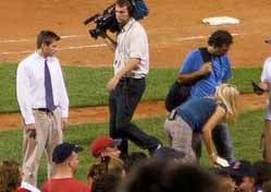 Heidi Watney's Rear Under Close Security Surveillance At All Times