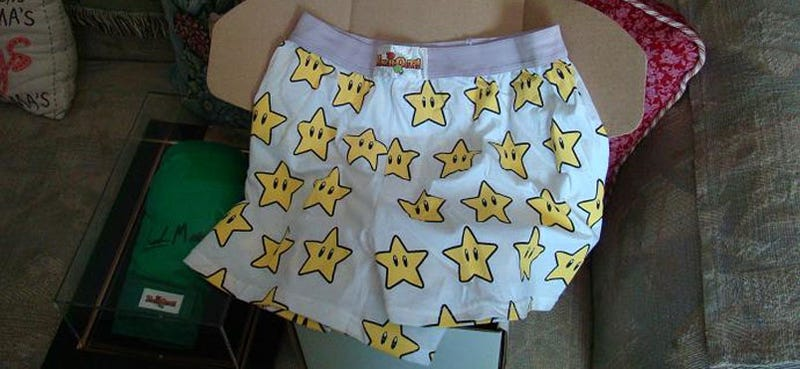 Warning: Punch-Out Boxer Shorts Could Be Hazardous To Your Health
