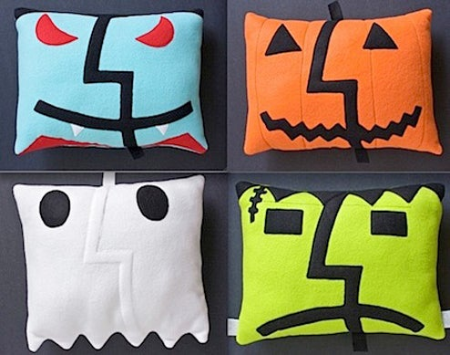 Halloween Mac OS X Finder Pillows Keep PCs From Trick-or-Treating on Your Sofa