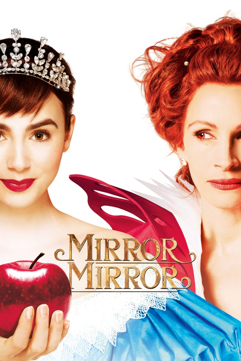 Just finished watching Mirror Mirror.....