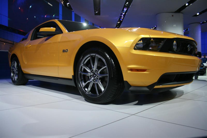Rollin' With The 5.0: New Mustang V8 Up Close And Personal