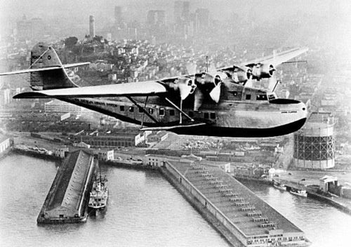 This Enormous Flying Boat Made Transcontinental History, 75 Years Ago Today