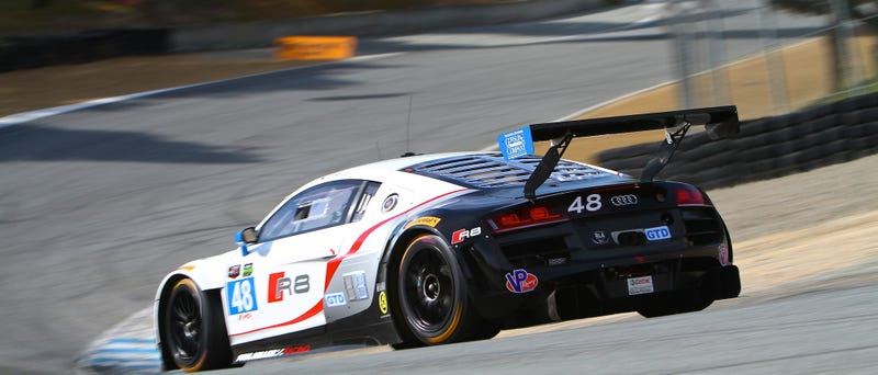 The Entrancing Beauty Of Laguna Seca At Speed