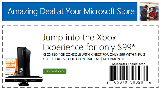 You Can Now Buy An Xbox 360 For $99 (If You Can Find A Microsoft Store)