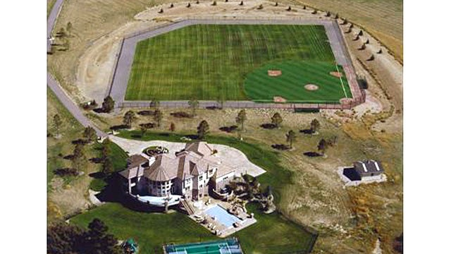 Mansion With a Private Baseball Diamond Proves They Don't Always Come