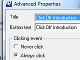 ClickOff Automatically Dismisses Nagging Pop-ups