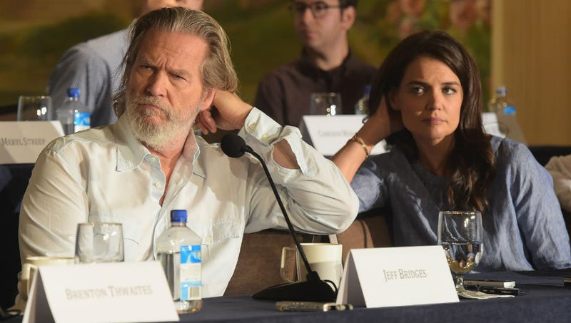 Be a Giver and Caption This Photo of Jeff Bridges and Katie Holmes
