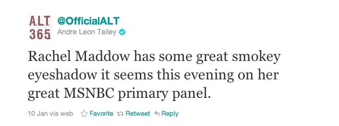André Leon Talley Really, Really Dislikes Rick Santorum