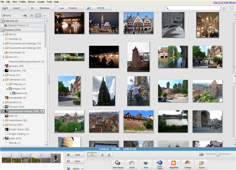 Organize your digital photos with Picasa