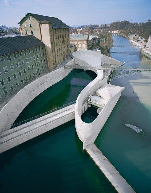Dams Should Really Look Like Frozen Rivers