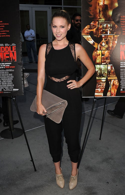 Porn-Worthy Fashions — And Luke Wilson! — At Middle Men Premiere
