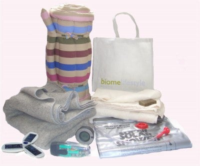 Ecologically Sound Camping Kit From Biome